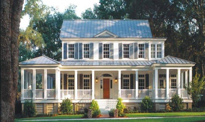 House Plans Porches Carolina Island Plan