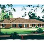 House Plans Ranch Hip Roof Stucco Eplans Plan