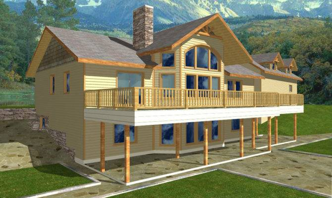 House Plans Ranch Waterfront More