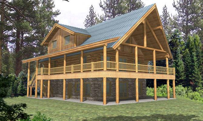 House Plans Rustic Home Lowcountry Lake