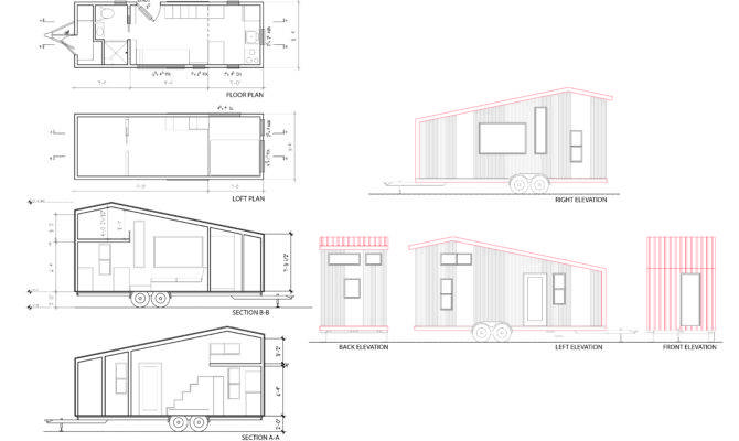 House Plans Sections Elevations