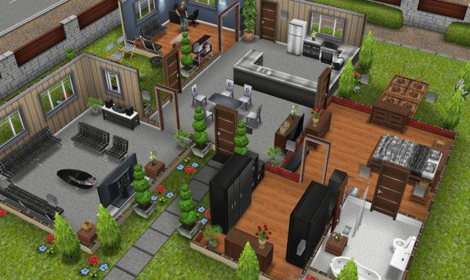 House Plans Sims Freeplay Home Design Style