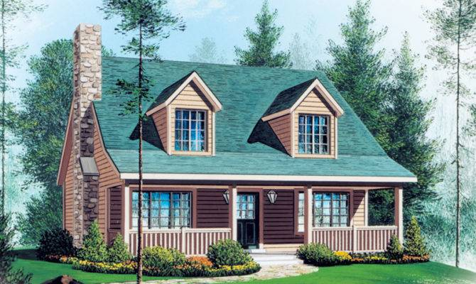 House Plans Southern Traditional Vacation