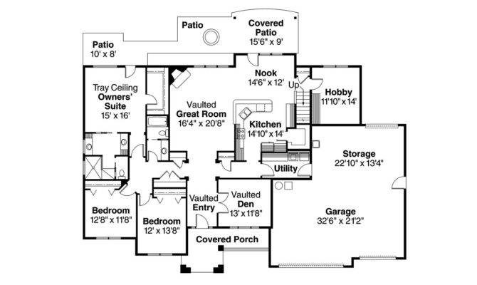 House Plans Traditional Waterfront Home More