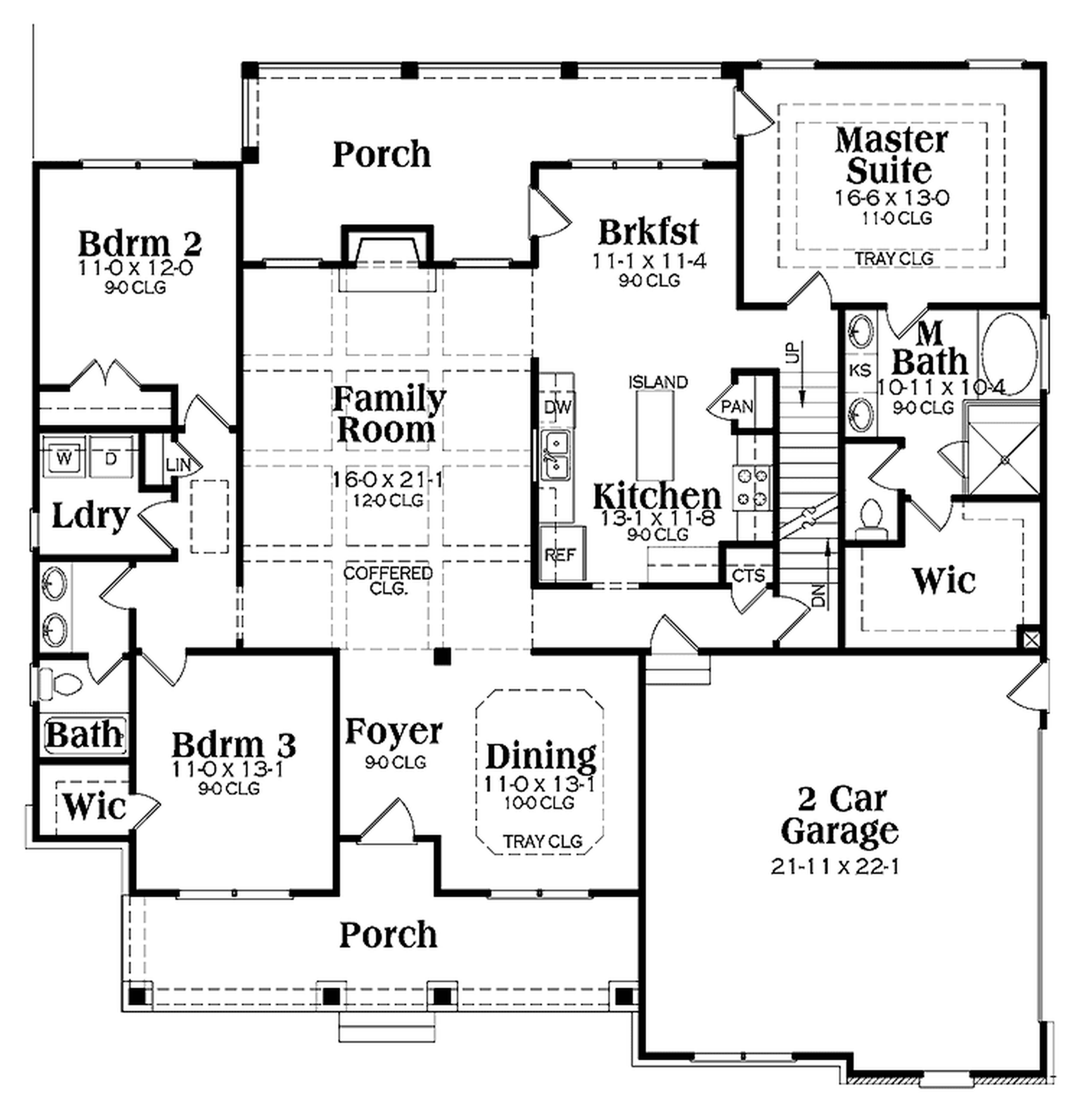 modern ranch floor plans - HD5000×5180