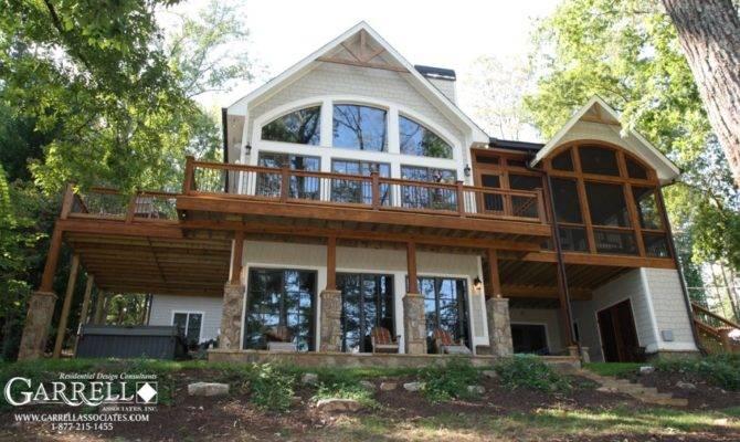 House Plans Walkout Basements Lake Luxury
