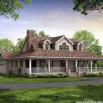 House Plans Wrap Around Porch Perfect Convenience Home