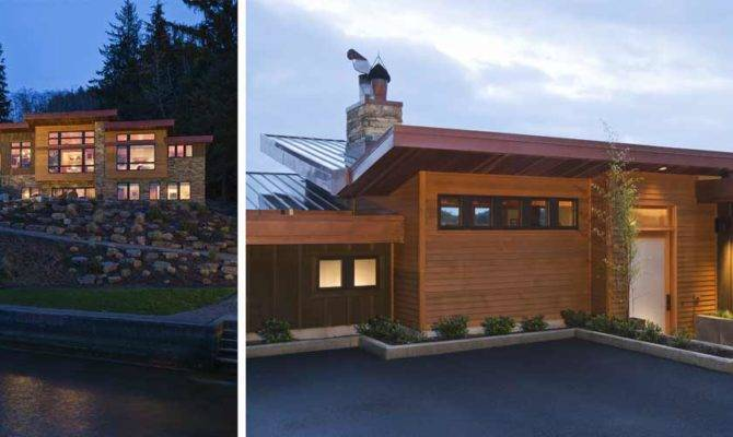 House Radiant Heated Floors Lake Design Houses Nathan