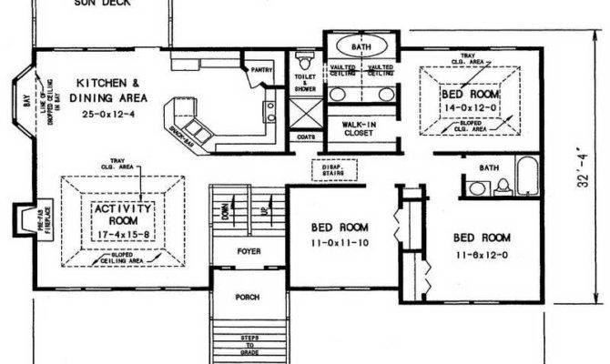 House Split Level Floor Plans Large