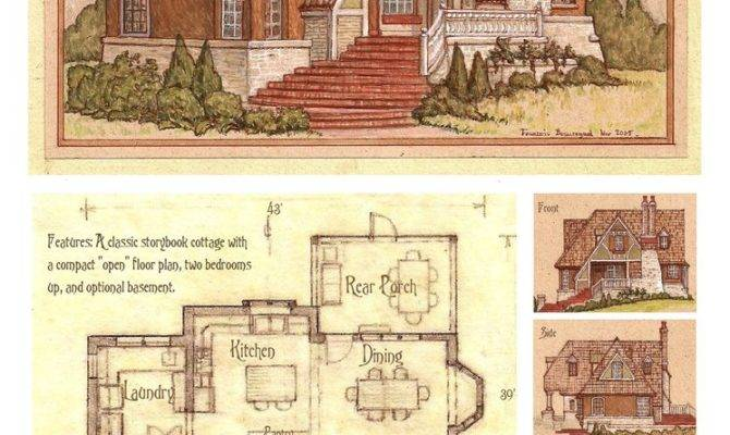 House Storybook Cottage Built Ever Deviantart