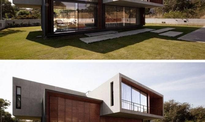 House Thailand Balance Between Concrete