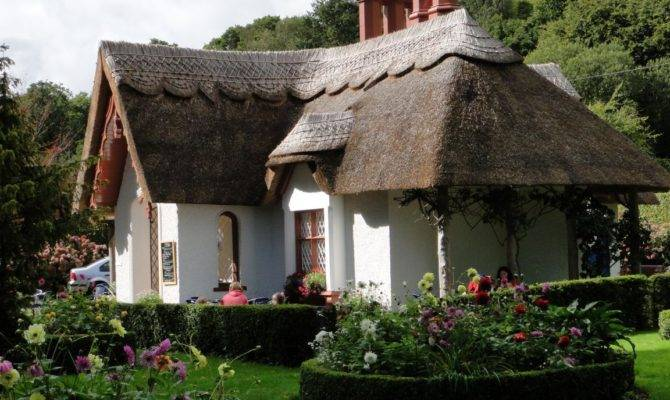 House Thatched Roof Killarney Ireland Stunning