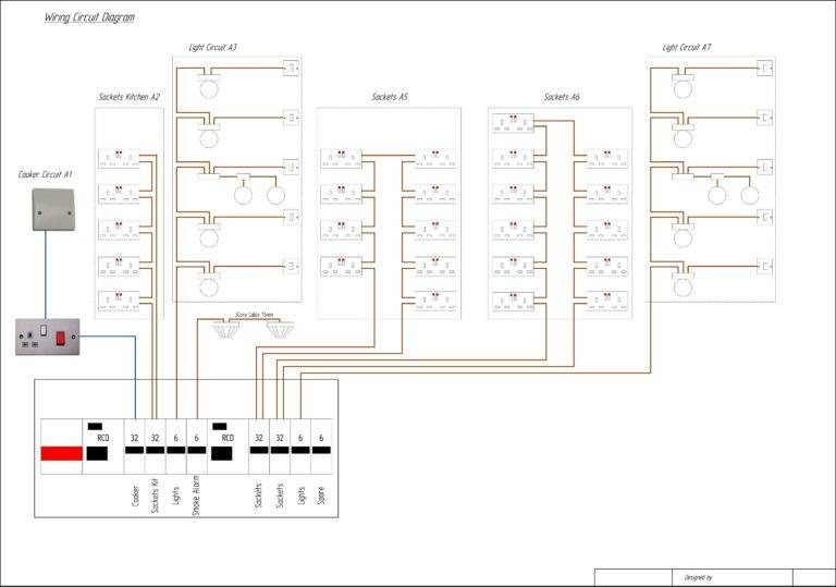 House Wiring Diagram Most Commonly Used Diagrams Home