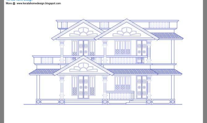Houses Sample Design Kerala Home Floor Plans