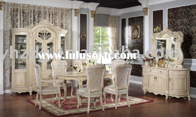 Hualing European Classic Dining Room Furniture Table