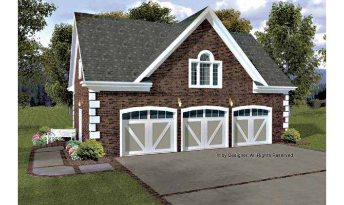 Hudson Carriage House Hwbdo Colonial Garage Plan