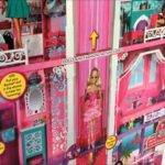 Huge Barbie Dream House Stories High Christmas Shopping