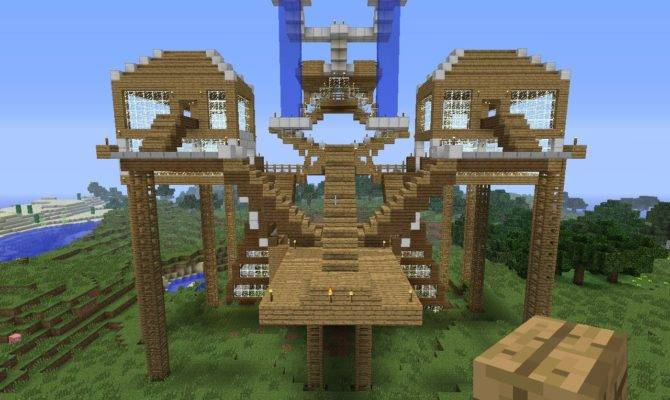 Huge Modern Houses Minecraft
