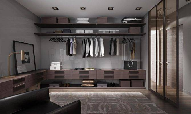 Huge Walk Closet Interior Design Ideas