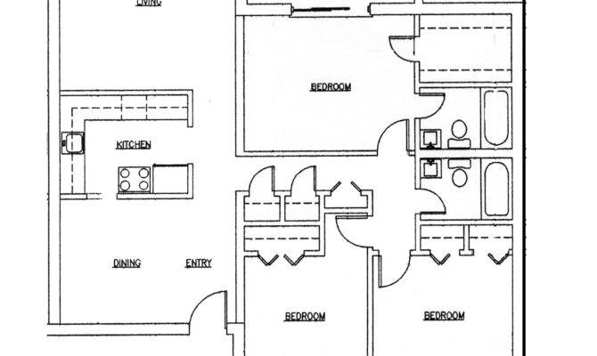 Huntington Plan Bedroom Bath Car Garage