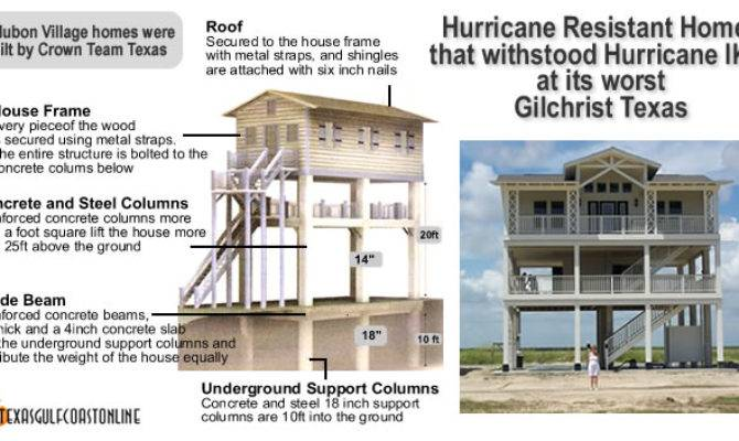 Hurricane Resistant Homes Texas Coast Survive Ike