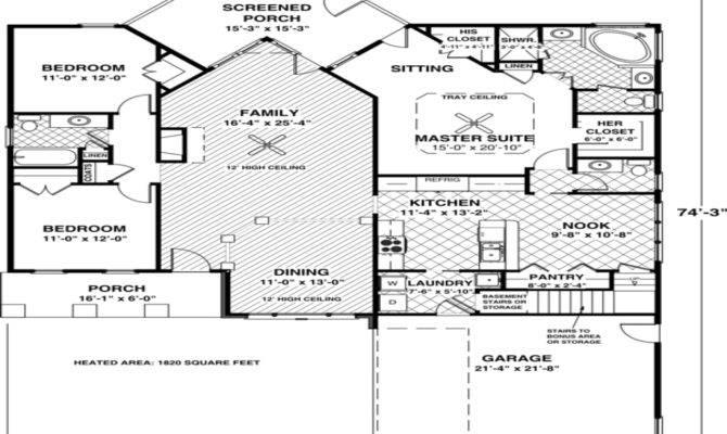 Idea Small House Floor Plans Under Best
