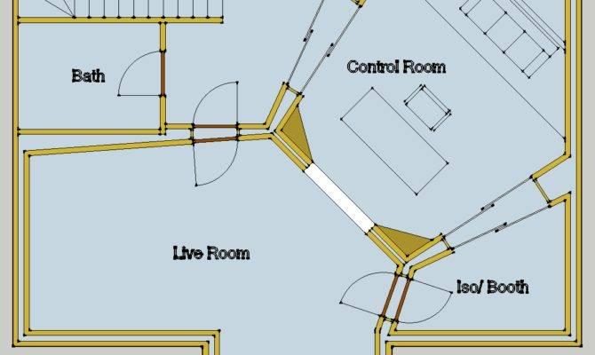 Ideal Recording Studio Floor Plans Acoustic Setups