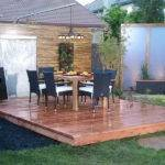 Ideas Outdooor Project Floating Deck Plans Make