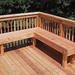 Ideas Small Deck Bench Plans Patio