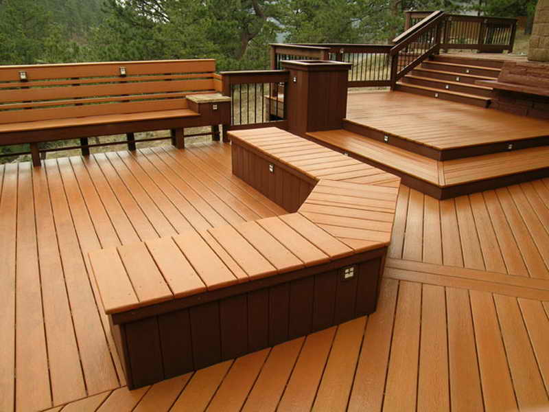 Ideas Tiny Deck Bench Plans Modern Designs