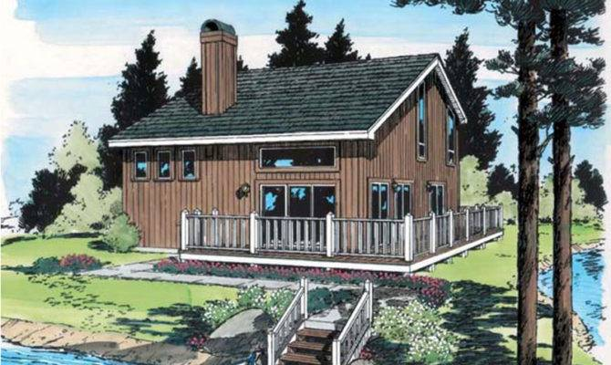 Idyllwild Vacation Cabin Home Plan House Plans More