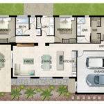 Illustrated House Plan Shazzamstudios