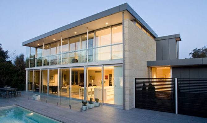 Important Things Contemporary Glass House Designs
