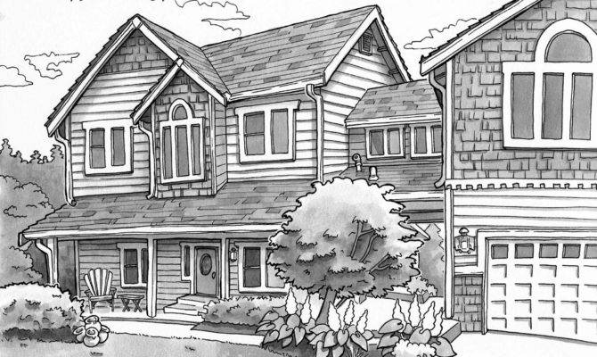 Important Tools Create Best Houses Landscape Drawing