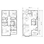 Impressive Small Duplex House Plans