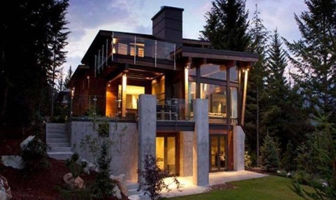 Impressive Ultra Modern House Plans Designs Exterior