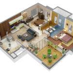 Incredible Floor Plans Bhk Design
