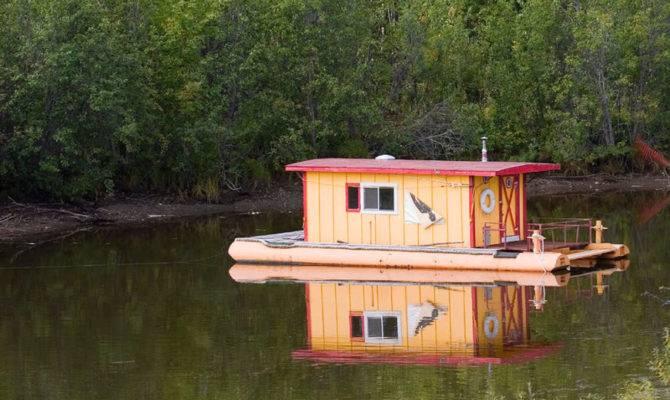 Incredible Unique Houseboat Designs Photos