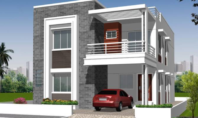 Independent House Elevation Designs Hyderabad Home