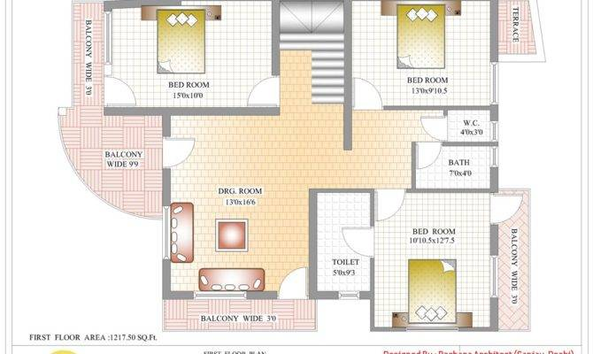 India House Plan First Floor