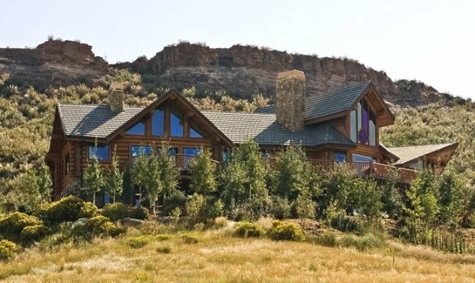 Indian Creek Ranch Estate Northern Colorado Luxury Log