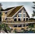 Indian Grove Rustic Frame Home Plan House