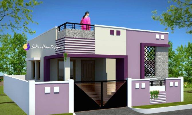 Indian Small House Design Bedroom Modern Plan