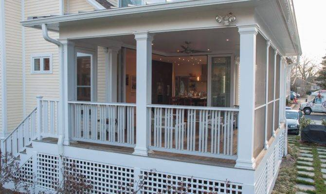 Indoor Enclosed Back Porch Design Houses
