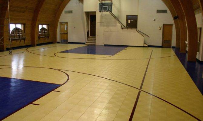 Indoor Home Basketball Courts Direct Access House