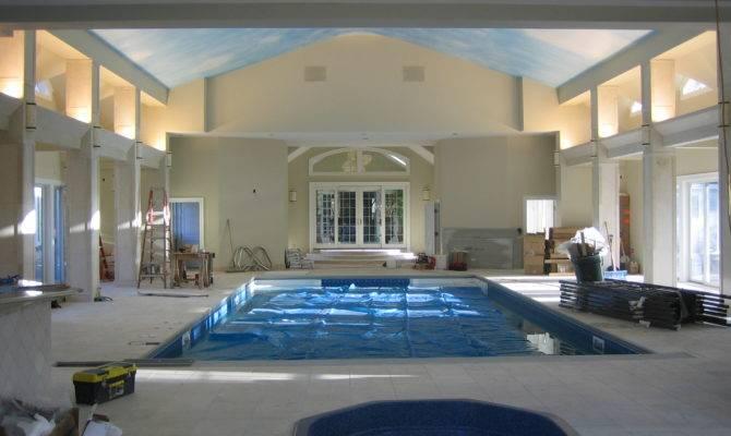 Indoor Pool House Plans Pinterest