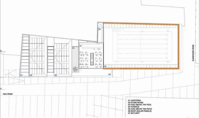 Indoor Swimming Pool Home Floor Plan