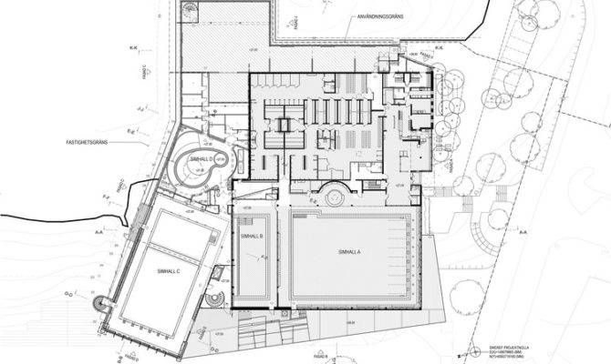 Indoor Swimming Pool Sundbyberg Urban Design Archdaily