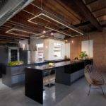 Industrial House Interior Contemporary Kitachen Islan Kitchen