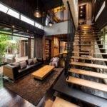 Industrial Modern Side Two Houses Bangkok